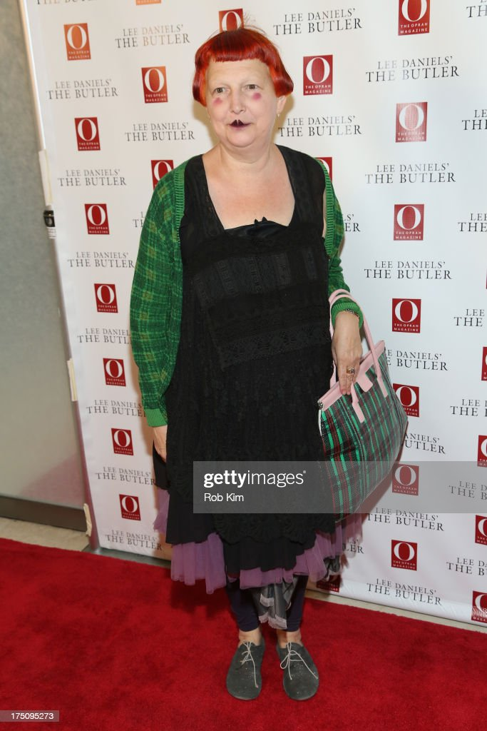 Lynn Yaeger attends the O, The Oprah Magazine's special advance screening of 'Lee Daniels' The Butler' at The Hearst Tower on July 31, 2013 in New York City.