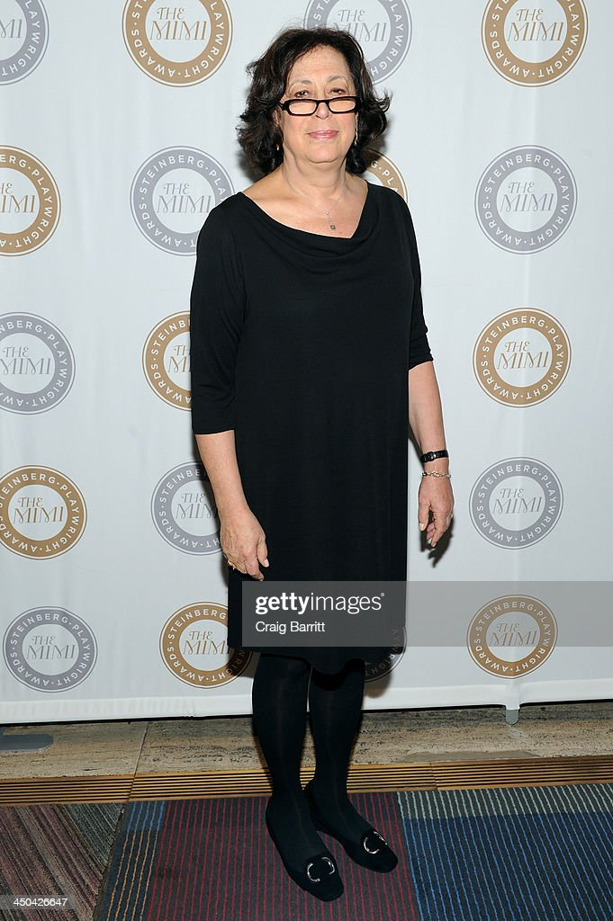 Lynne Meadow attends The 2013 Steinberg Playwright 'Mimi' Awards presented by The Harold and Mimi Steinberg Charitable Trust at Lincoln Center Theater on November 18, 2013 in New York City.