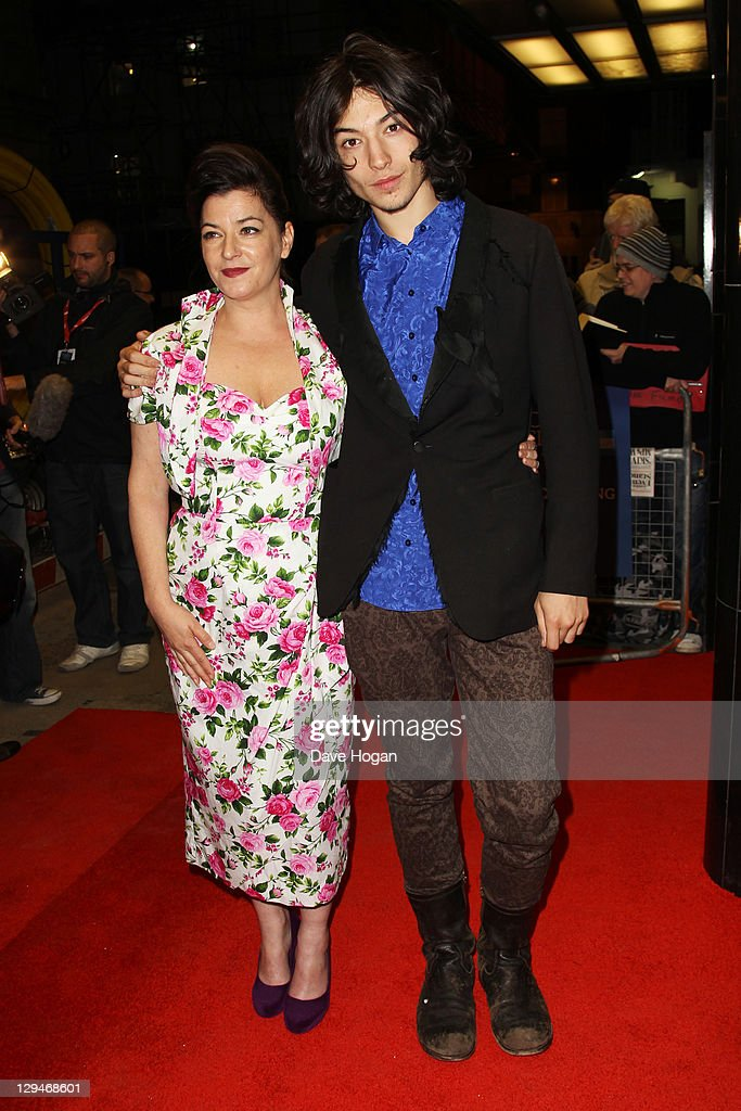 Lynne Ramsay and Ezra Miller attend the premiere of 'We Need To Talk About Kevin' at the The 55th BFI London Film Festival at The Curzon Mayfair on...