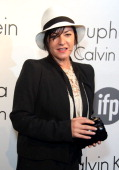 Lynne Ramsay attends a party hosted by Calvin Klein and IFP to celebrate women in film at The 66th Annual Cannes Film Festival at L'Ecrin Plage on...