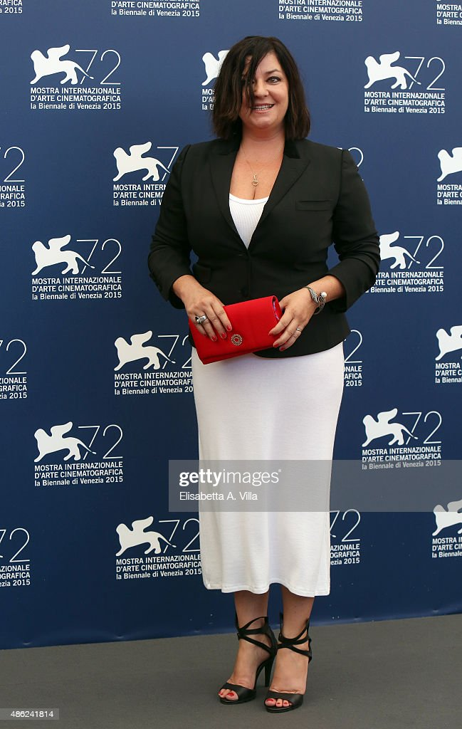 Lynne Ramsay attends the Jury Photocall during the 72nd Venice Film Festival on September 2 2015 in Venice Italy