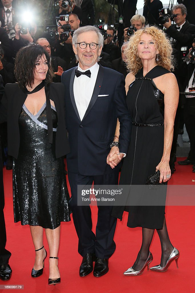 <a gi-track='captionPersonalityLinkClicked' href=/galleries/search?phrase=Lynne+Ramsay&family=editorial&specificpeople=2118955 ng-click='$event.stopPropagation()'>Lynne Ramsay</a>, <a gi-track='captionPersonalityLinkClicked' href=/galleries/search?phrase=Steven+Spielberg&family=editorial&specificpeople=202022 ng-click='$event.stopPropagation()'>Steven Spielberg</a> and <a gi-track='captionPersonalityLinkClicked' href=/galleries/search?phrase=Kate+Capshaw&family=editorial&specificpeople=204585 ng-click='$event.stopPropagation()'>Kate Capshaw</a> attend the Premiere of 'Inside Llewyn Davis' at The 66th Annual Cannes Film Festival on May 19, 2013 in Cannes, France.