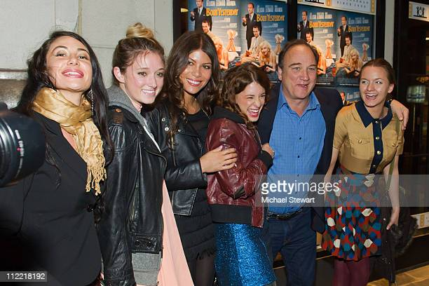 Lynne Volk Ashley Stanton Dawn Dunning of Bambi Killers Meghan Miller of Bambi Killers actor James Belushi and actress Tanya Fischer attend the...