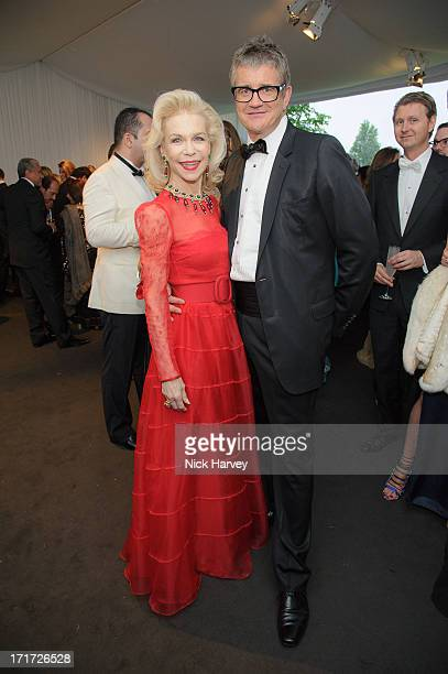 Lynne Wyatt and Jay Jopling attend the 15th Annual White Tie and Tiara Ball to Benefit Elton John AIDS Foundation in Association with Chopard at...