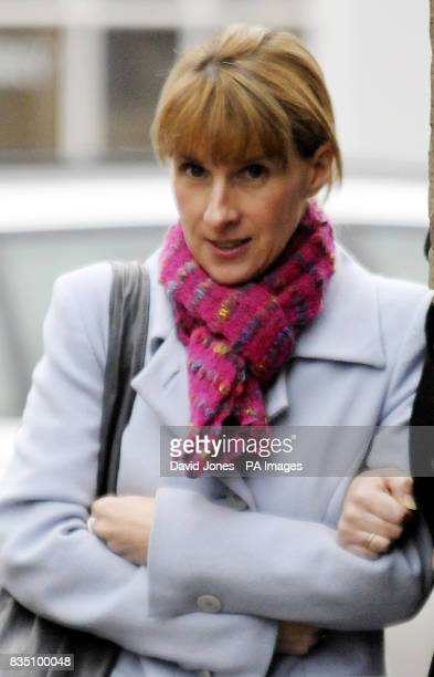 LynneMarrie Howden arrives at Warwick Crown court today where she faces charges related to the death of a women in an accident caused while she was...