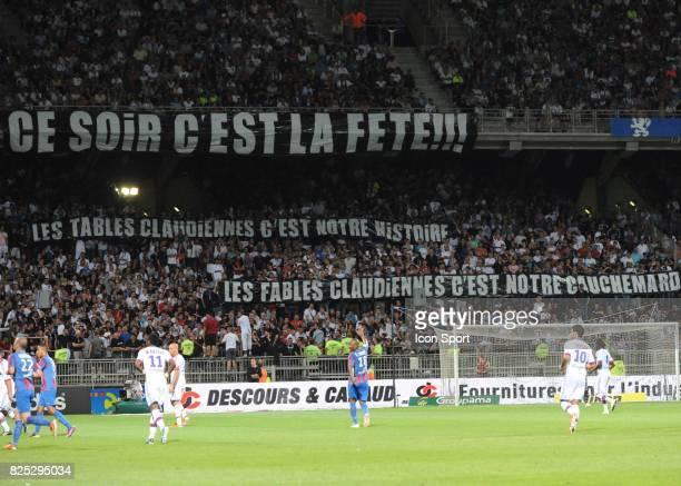 LYON / BANDEROLE Lyon / Caen 37eme journee de Ligue 1