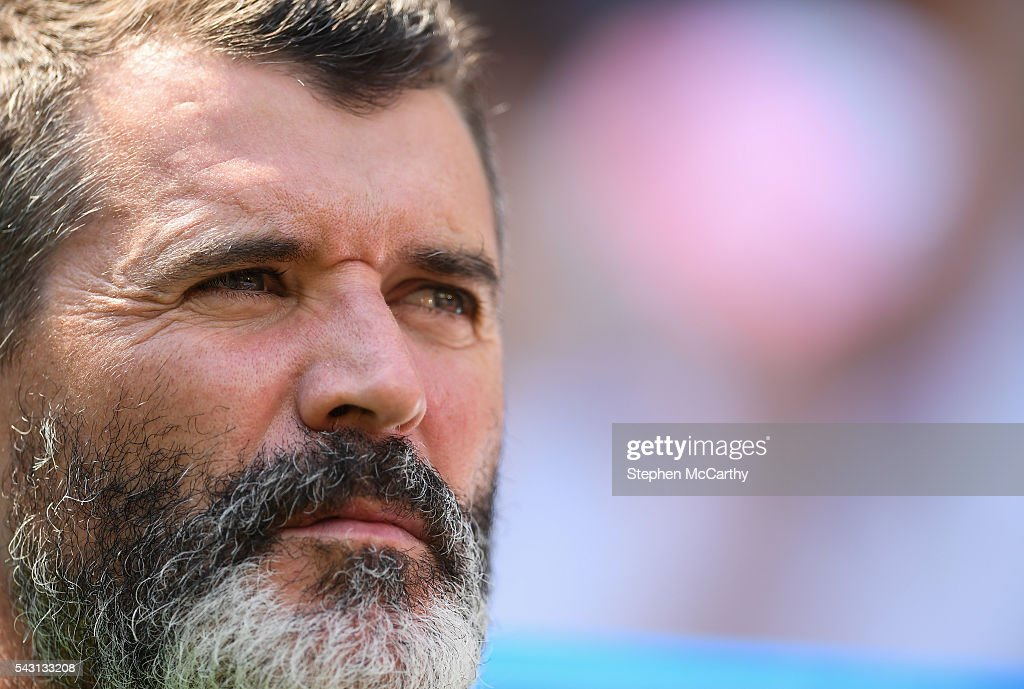 Lyon , France - 26 June 2016; Republic of Ireland assistant manager Roy Keane ahead of the UEFA Euro 2016 Round of 16 match between France and Republic of Ireland at Stade des Lumieres in Lyon, France.
