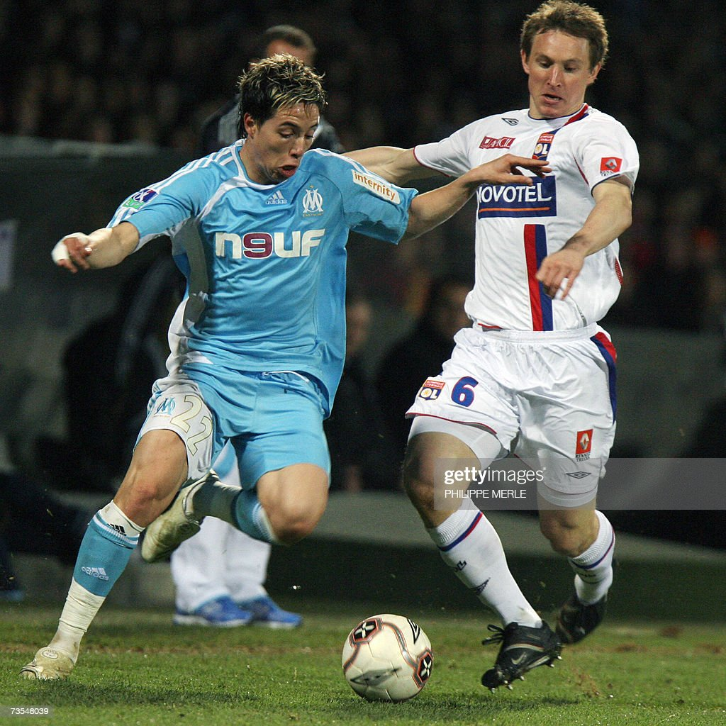 Marseille French midfielder Samir Nasri