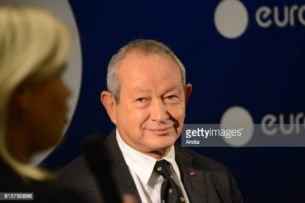 The Egyptain multimillionaire Naguib Sawiris who invested 35 million euros to acquire a 53% controlling stake in the media outlet inaugurated the...
