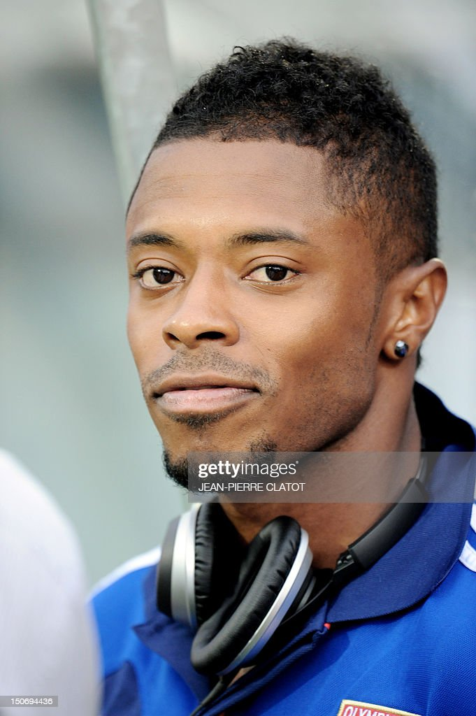 Lyon's Brazilian midfielder Michel Fernandes Bastos is pictured ahead of the French L1 football match Evian (ETGFC) vs Lyon (OL) on August 24, ... - lyons-brazilian-midfielder-michel-fernandes-bastos-is-pictured-ahead-picture-id150694436