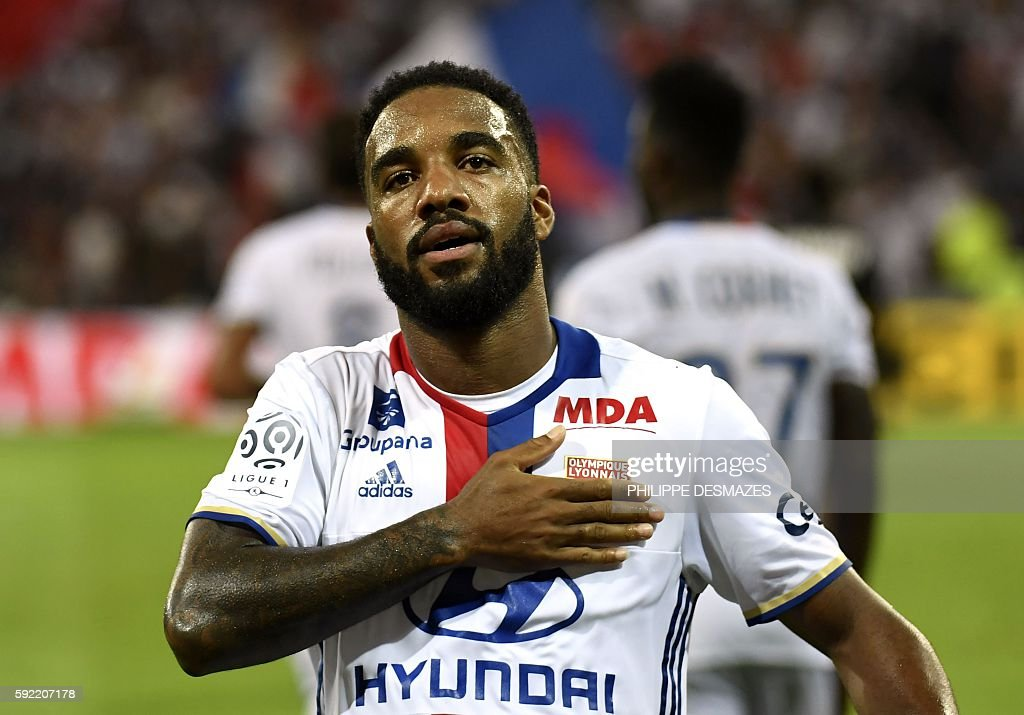 FBL-FRA-LIGUE1-LYON-CAEN : News Photo