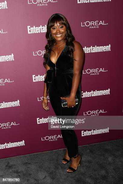 Lyric Lewis attends the Entertainment Weekly's 2017 PreEmmy Party at the Sunset Tower Hotel on September 15 2017 in West Hollywood California