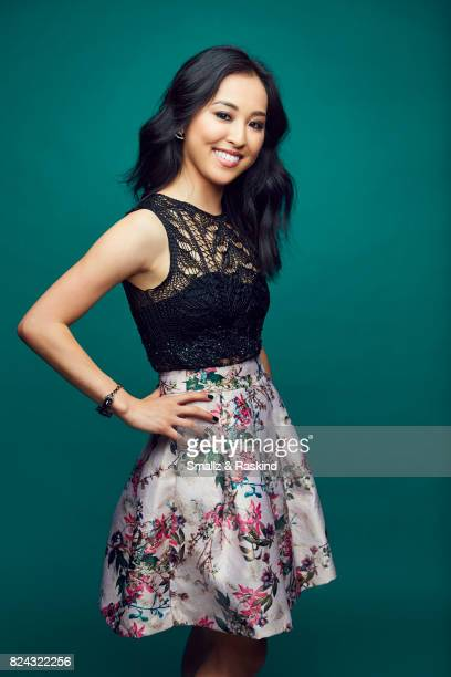 Lyrica Okano of Hulu's 'Marvel's Runaways' poses for a portrait during the 2017 Summer Television Critics Association Press Tour at The Beverly...