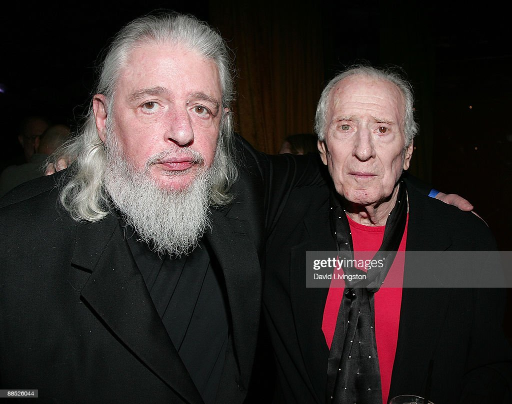 Lyricist <a gi-track='captionPersonalityLinkClicked' href=/galleries/search?phrase=Gerry+Goffin&family=editorial&specificpeople=1126198 ng-click='$event.stopPropagation()'>Gerry Goffin</a> (L) and songwriter Jerry Leiber attend a launch party for the book 'Hound Dog' at The Conga Room at L.A. Live on June 16, 2009 in Los Angeles, California.