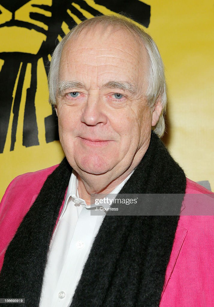 Lyricist Tim Rice attends the afterparty for 'The Lion King' Broadway 15th Anniversary Celebration at Minskoff Theatre on November 18, 2012 in New York City.