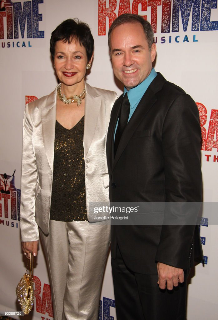 Lyrics Lynn Ahrens and Music Stephen Flaherty attends the after party for the Broadway opening of 'Ragtime' at the Tavern On The Green on November 15, 2009 in New York City.