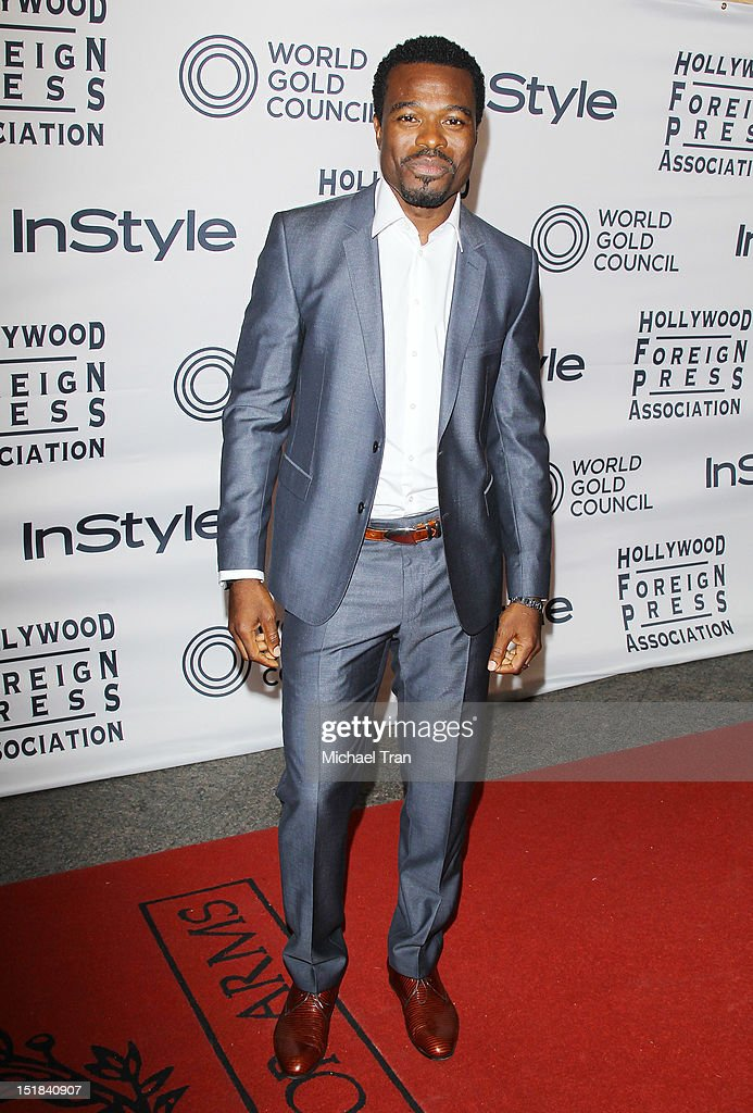 Lyriq Bent arrives at the Instyle and the Hollywood Foreign Press Association Party during the 2012 Toronto International Film Festival held at Windsor Arms Hotel on September 11, 2012 in Toronto, Canada.