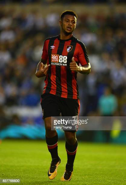 Lys Mousset of Bournemouth during the Carabao Cup Second Round match between Birmingham City and AFC Bournemouth at St Andrews Stadium on August 22...