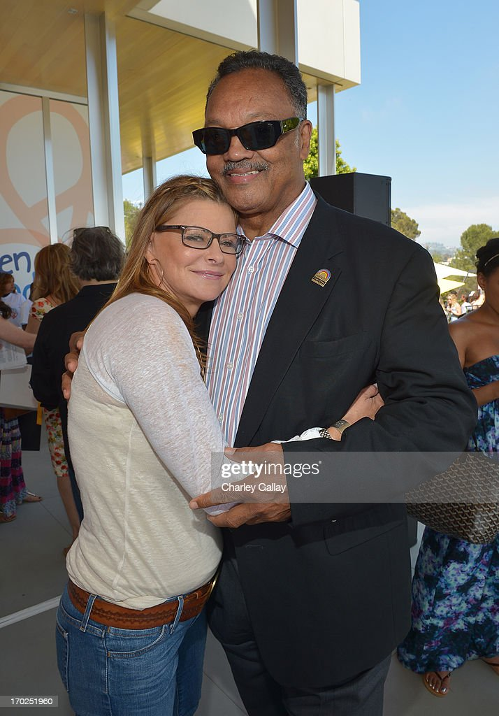 Lysa Heslov and Rev. Jesse Jackson attend the 1st Annual Children Mending Hearts Style Sunday on June 9, 2013 in Beverly Hills, California.