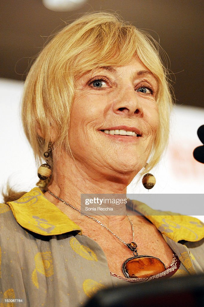 Lyse Lafontaine speaks at the 37th Toronto International Film Festival Award Winner Ceremony held at the InterContinental Toronto Center Hotel on September 16, 2012 in Toronto, Canada.