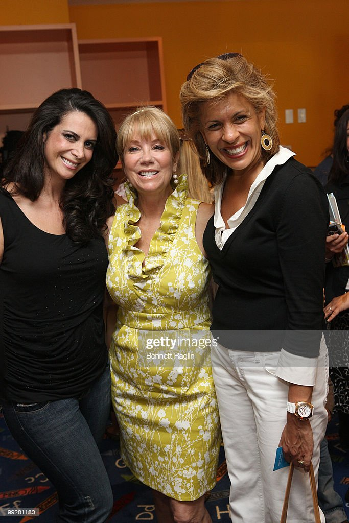 Lyss Stern, editor-in-chief of The New York Observer Playground Magazine, Kathie Lee Gifford, and Hoda Kotb attends an afternoon with Kathie Lee Gifford at Azure on May 13, 2010 in New York City.