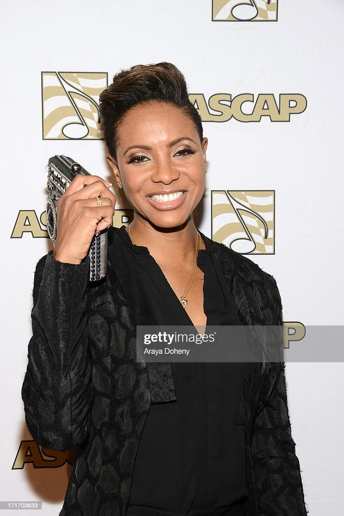 MC Lyte attends The American Society of Composers, Authors and Publishers (ASCAP) 26th Annual Rhythm & Soul Music Awards at The Beverly Hilton Hotel on June 27, 2013 in Beverly Hills, California.