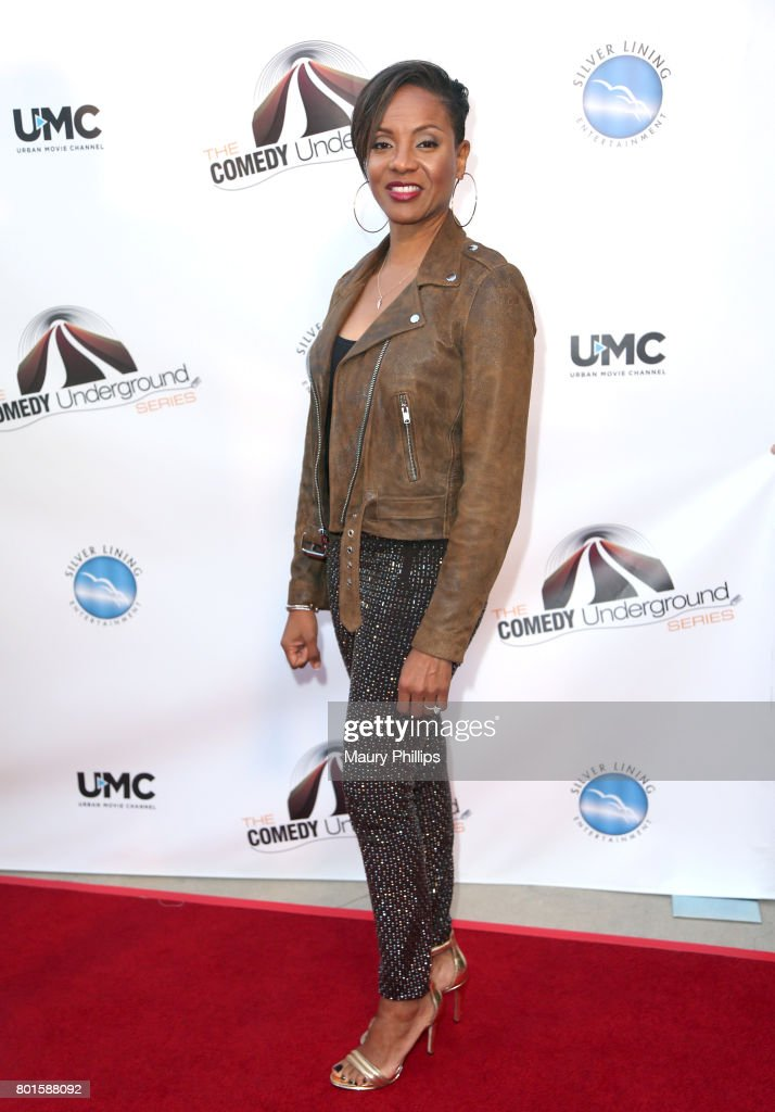 MC Lyte attends The Comedy Underground Series at The Alex Theatre on June 26, 2017 in Glendale, California.