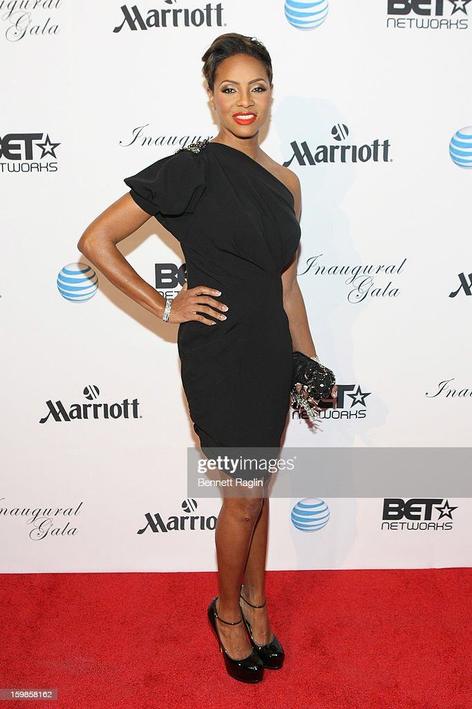 MC Lyte attends the Inaugural Ball hosted by BET Networks at Smithsonian American Art Museum & National Portrait Gallery on January 21, 2013 in Washington, DC.
