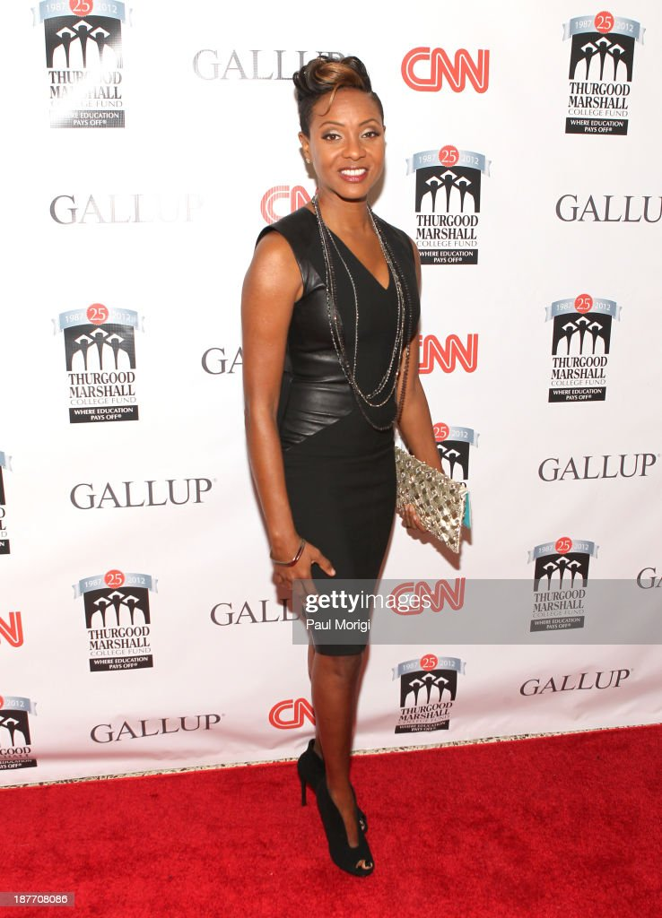 MC Lyte attends the Thurgood Marshall College Fund 25th Awards Gala on November 11, 2013 in Washington City.