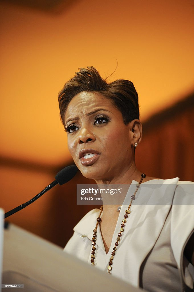 <a gi-track='captionPersonalityLinkClicked' href=/galleries/search?phrase=MC+Lyte&family=editorial&specificpeople=226807 ng-click='$event.stopPropagation()'>MC Lyte</a> speaks during the Leading Women Defined: Intel Presents Developing Your Personal Brand Mentoring Session on February 28, 2013 in Washington, DC.