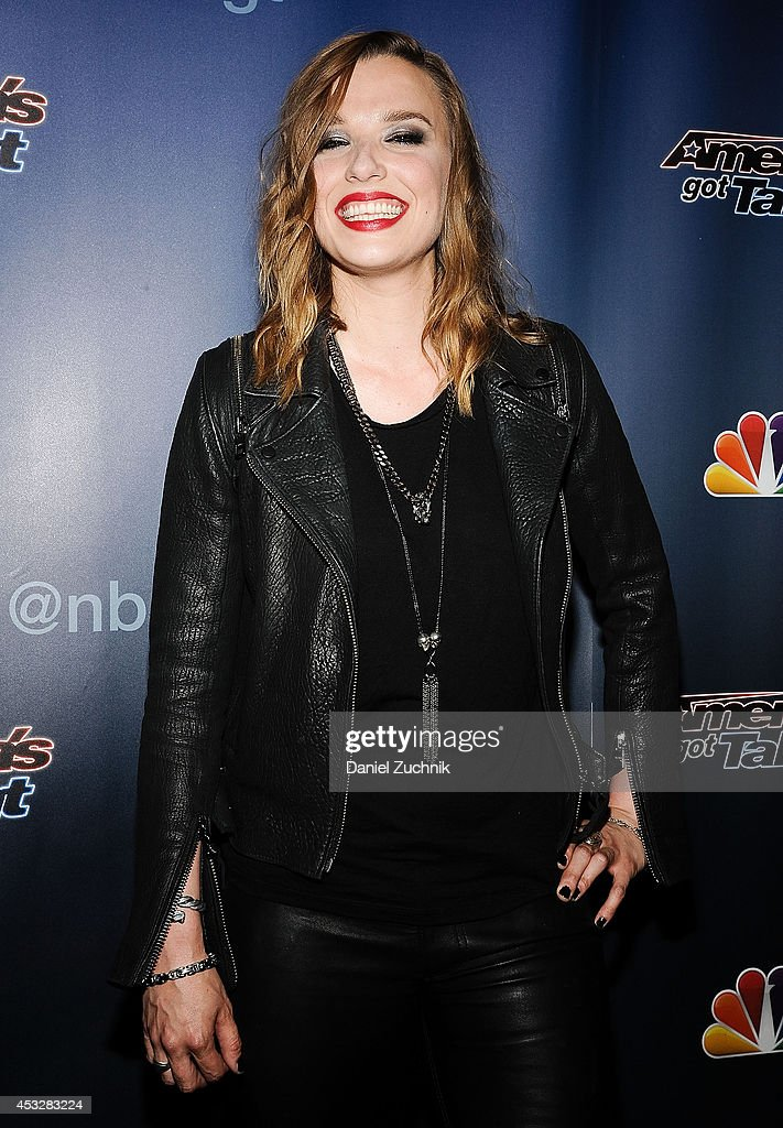 <a gi-track='captionPersonalityLinkClicked' href=/galleries/search?phrase=Lzzy+Hale&family=editorial&specificpeople=5718929 ng-click='$event.stopPropagation()'>Lzzy Hale</a> attends 'America's Got Talent' season 9 post show red carpet event at Radio City Music Hall on August 6, 2014 in New York City.