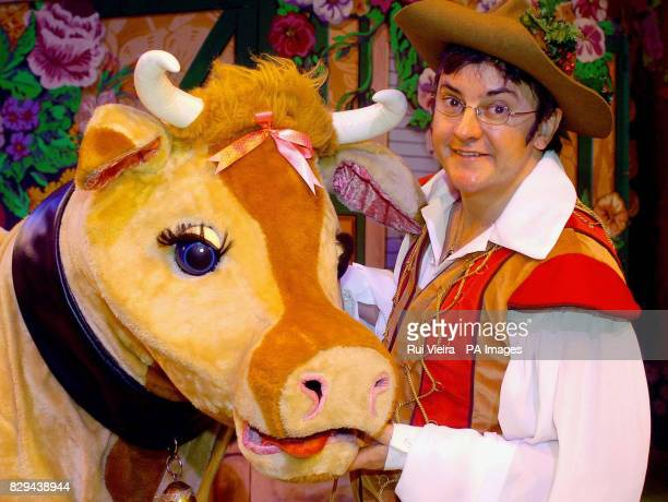 I'm A Celebrity Get Me Out Of Here winner Joe Pasquale during a photocall prior to the first performance of 'Jack And The Beanstalk'