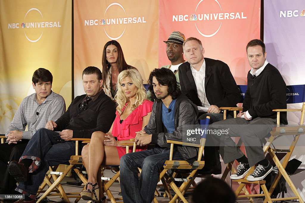 DAY 2009 'I'm A CelebrityGet Me Out of Here' Session Pictured Janice Dickinson John Salley Chris Brogden Jayson Dinsmore Rod Blagoevich Stephen...