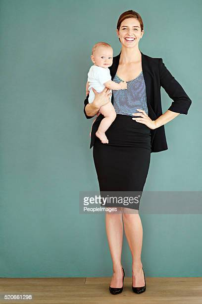 I'm uma orgulhosa trabalhar mãe de Um Bebé Menino bonito