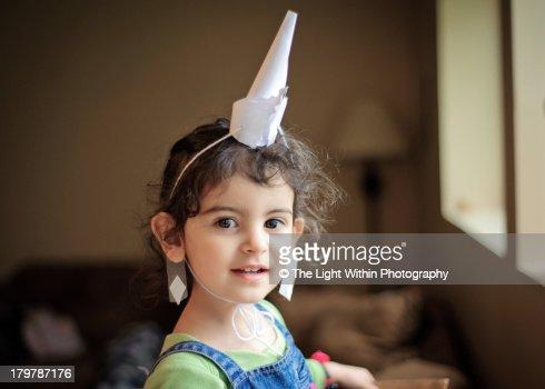 I'm a unicorn! : Foto de stock
