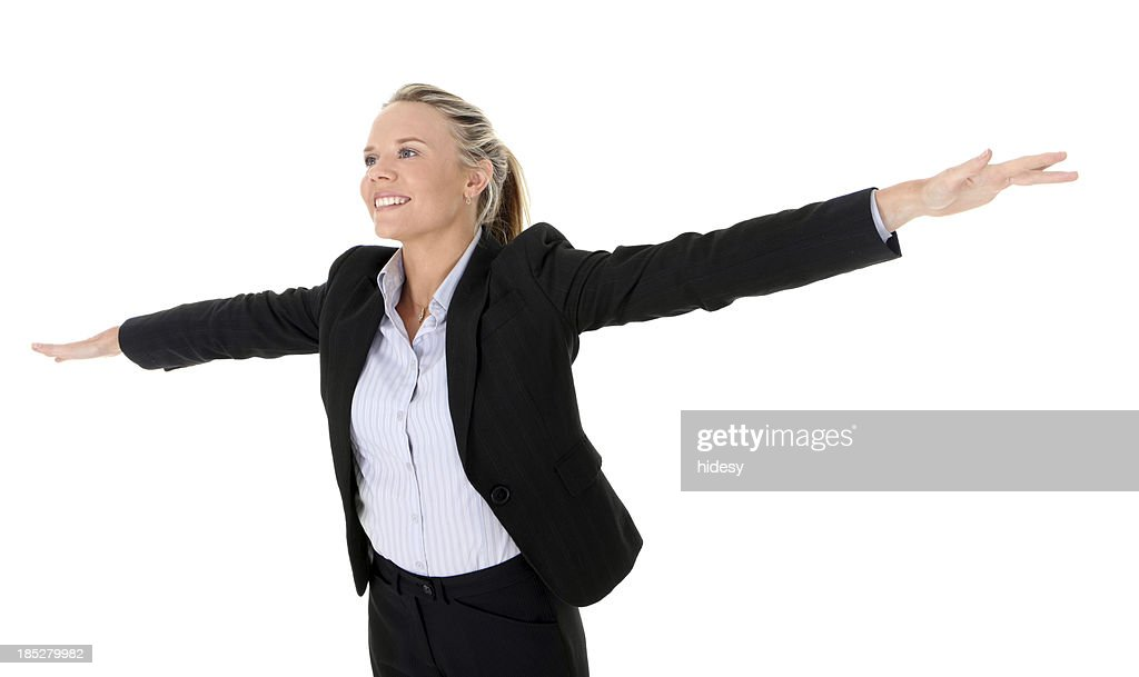 I'm Flying : Stock Photo