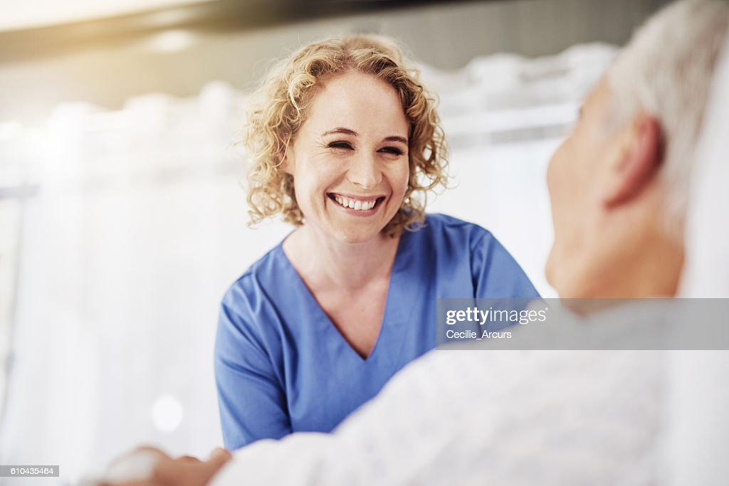 I'm glad to see you doing so well : Stock Photo