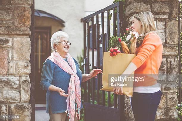 I'm here, Granny!