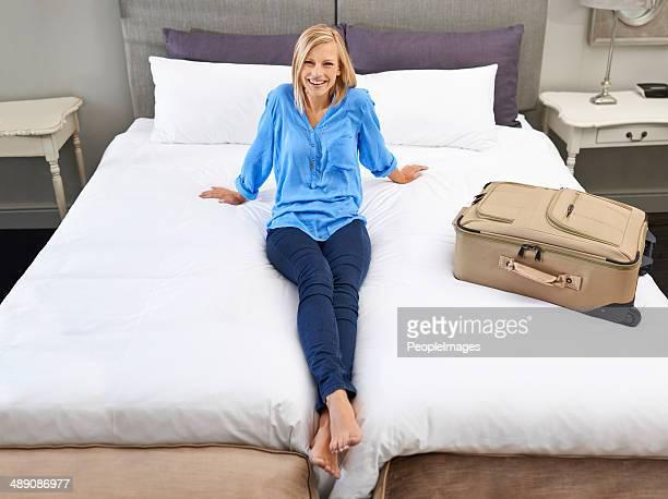 Ich bin ich liebe diesen Bett!
