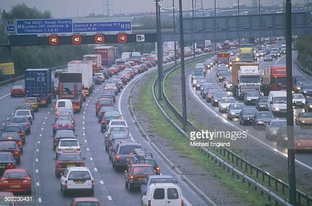 m25 traffic jam