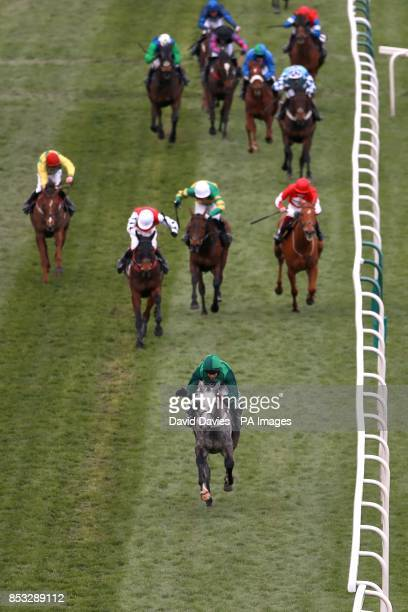 Ma Filleule ridden by Barry Geraghty comes home to win the Crabbie's Supporting Everton In The Community Topham Chase