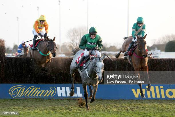 Ma Filleule ridden by Barry Geraghty during the William Hill Bet On The Move Handicap Chase