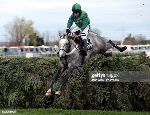 Ma Filleule ridden by Barry Geraghty win the Crabbies Supporting Everton in the Community Topham Chase during Ladies Day of the Crabbie's Grand...