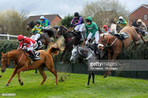 Ma Filleule ridden by Barry Geraghty wins the Crabbies Supporting Everton In The Community Topham Steeple Chase during Ladies Day of the Crabbie's...