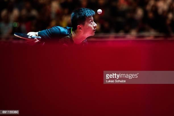 Ma Long of China competes at Table Tennis World Championship at Messe Duesseldorf on June 01 2017 in Dusseldorf Germany
