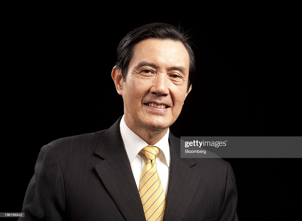 <a gi-track='captionPersonalityLinkClicked' href=/galleries/search?phrase=Ma+Ying-jeou&family=editorial&specificpeople=539998 ng-click='$event.stopPropagation()'>Ma Ying-jeou</a>, Taiwan's president, sits for a photograph at the Presidential Palace in Taipei, Taiwan, on Friday, Dec. 22, 2011. Ma said his rapprochement with China will encourage other nations to strengthen trade with the island and make it less dependent on the mainland, rebutting opposition criticism that he's left the economy more vulnerable. Photographer: Ashley Pon/Bloomberg via Getty Images