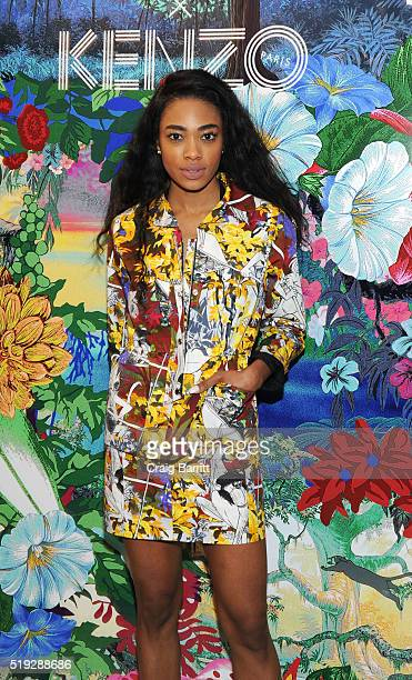 Maad Moiselle attends the KENZO celebration of Disney's 'The Jungle Book' Capsule Collection with Bergdorf Goodman on April 5 2016 in New York City