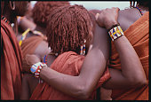 Maasai people in Kenya