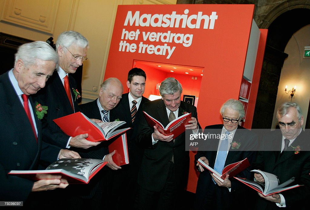 the treaty of maastricht In october 1993, the german federal constitutional court issued its maastricht  decision [1] which both upheld the constitutionality of the treaty of maastricht and .