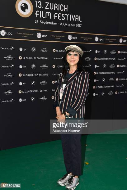 Mabel Cheung member of the jury for international feature film poses at a photocall during the 13th Zurich Film Festival on October 5 2017 in Zurich...
